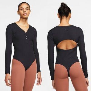 Nike Yoga Luxe Women's Long-Sleeve Bodysuit Thong